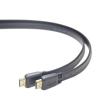 Gembird HDMI V2.0 apa-apa lapos kábel aranyozott csatlakozóval 1m