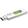 ADATA Flash Drive UV320; 64GB; USB 3.0; white and green