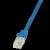 LogiLink - patch kábel; CAT 5e UTP 1;5m kék