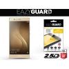 Huawei P9, Kijelzővédő fólia (az íves részre is), Eazy Guard, Diamond Glass (Edzett gyémántüveg), arany