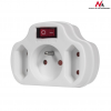 MACLEAN MCE142 Socket x3 with switch