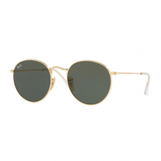 Ray-Ban RB3447N 001 ROUND METAL ARISTA CRYSTAL GREEN napszemüveg