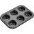 LAMART LT3051 BASE Muffin sütőforma 6 darabos 42002029