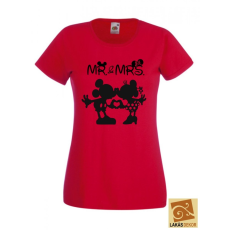 Mr & Mrs. női póló