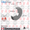 Zimmermann fékdob 180.5103.00