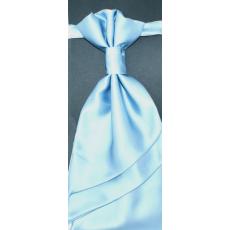 Goldenland Francia nyakkendõ,díszzsebkendõvel - Égszínkék