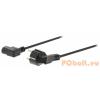 Valueline Schuko Tápkábel Schuko Dugasz - IEC-320-C13 10.0 m Fekete