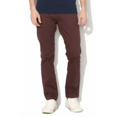 Selected Homme , Paris chino nadrág, lila, W32-L34 (16057025-DECADENT-CHOCOLATE-W32-L34)