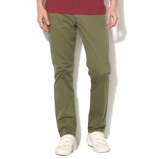 Jack Jones Jack&Jones, Cody chino nadrág övvel, Katonai zöld, W31-L34 (12127367-OLIVE-NIGHT-W31-L34)