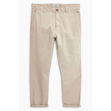 Next , Slim fit chino nadrág, homokbarna, 32L (694537-BEIGE-32L)