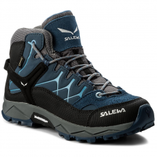 Salewa Bakancs SALEWA - Jr Alp Trainer Mid Gtx GORE-TEX 64006-0365 Dark Denim/Charcoal