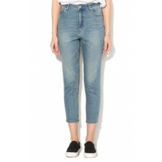 Cheap Monday , Donna magas derekú slim fit farmernadrág, Világoskék, W30-L32 (0446150-PENNY-BLUE-W30-L32)