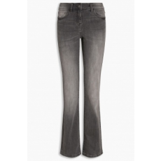 Next , Boot cut farmernadrág, Sötétszürke, 14R (728967-GREY-14R)