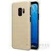 Nillkin Super Frosted hátlap tok Samsung G960 Galaxy S9, arany + ajándék kijelzővédő fólia