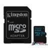 Kingston 64GB SD micro Canvas Go (SDXC Class 10  UHS-I U3) (SDCG2/64GB) memória kártya adapterrel