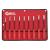 Genius Tools 6-lapos csavarhúzó készlet, hosszított mágneses, metrikus, 9 db-os