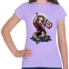 PRINTFASHION Törd meg a csendet! - Női póló - Viola