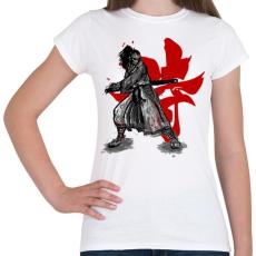 PRINTFASHION Szamuráj szellem - Női póló - Fehér