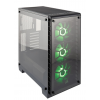 Corsair case Crystal Series 460X RGB   Tempered Glass, Compact ATX Mid-Tower