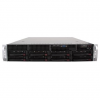 Supermicro Chassis SUPERMICRO SuperChassis CSE-825TQ-563LPB, 2U Rack-Mountable, 8x3.5' SAS/SATA HS HDD bays, 2x3.5' fixed HDD bays,