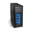 Spirit of Gamer REVOLUTION 1 Blue (fekete, fekete belsõ, 3x12cm ventilátor, ATX,mATX 2xUSB3.0,...