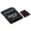 Kingston Card MICRO SD Kingston 128GB Canvas React UHS-I U3 V30 A1 + Adapter