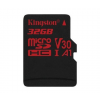 Kingston Card MICRO SD Kingston 32GB Canvas React UHS-I U3 V30 A1