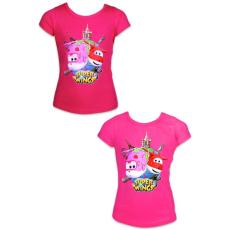 ismeretlen Super Wings: rövid ujjú póló - 104 méret, lányos, két színben