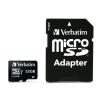 Verbatim Pro 32GB Class10 UHS-I microSDHC memóriakártya + adapter