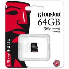 64 gb-os Kingston micro SD kártya (class10) memóriakártya