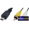 73 757 MINI USB kábel mini 8 pin video → 2xRCA Nikon
