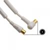 7656 RF kábel 3m (dugó-dugó)