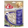 8in1 2x190g 70 darab 8in1 Delights Twisted Sticks kutyasnack - marha