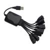 93089 7 Portos USB HUB 230V-os Táplálással