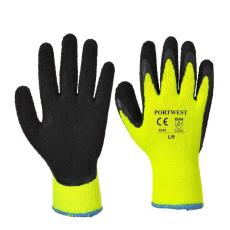 A143 - Thermal Soft Grip kesztyű - Sárga