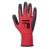 A174 - Flex Grip Latex Glove - piros/fekete