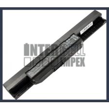 A53Z 4400 mAh 6 cella fekete notebook/laptop akku/akkumulátor utángyártott asus notebook akkumulátor