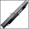 A550CA 2200 mAh 4 cella fekete notebook/laptop akku/akkumulátor utángyártott