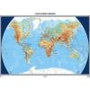A Föld felszíne és országai falitérkép - HM