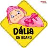 Abenys Autómatrica - fényvisszaverő saját felirattal - DÁLIA