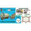 Ablakszigetelő, ajtószigetelő, öntapadó tömítőprofil, P, barna, 9 x 5,5 mm x 100 m