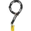 Abus Granit Detecto X Plus 8077 Yellow 12KS Black Loop