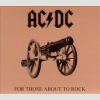 AC/DC For Those About to Rock We Salute You LP