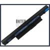 Acer Aspire 5745PG 4400 mAh 6 cella fekete notebook/laptop akku/akkumulátor utángyártott