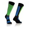 Acerbis cross zokni - MX X-Flex - fekete/kék