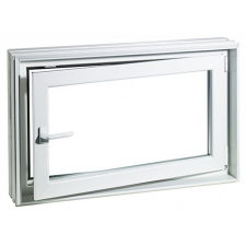ACO MARKANT Therm hőszgetelt ablak kerettel, balos 100x75x30cm-es fürdőkellék