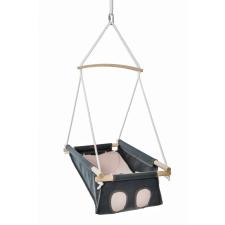 Adamo bébihinta keresztrúddal - Szürke-rózsaszín pihenőszék, bébifotel