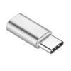 Adapter Micro USB / USB TYPE C (USB-C) - ezüst