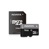 ADATA 16 GB MicroSDHC Card Premier (Class 10, UHS-I) 1 adapter