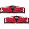 ADATA 16GB KIT DDR4 2400MHz CL16 XPG Z1, vörös